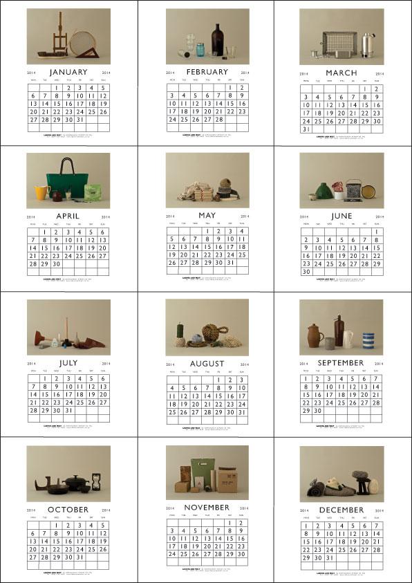 2014-Calendar-grid